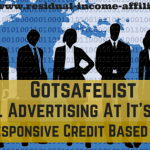 Gotsafelist : The Most Responsive Credit Based Safelist